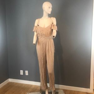 "NWT Free People ""In the Moment"" Jumpsuit Sz 10"